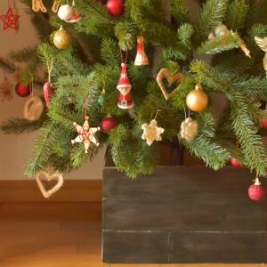 クリスマスツリーカバー作りました☆
