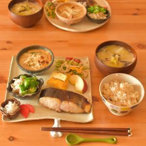 焼き魚のおひるごはん  ʕ•ᴥ•ʔ