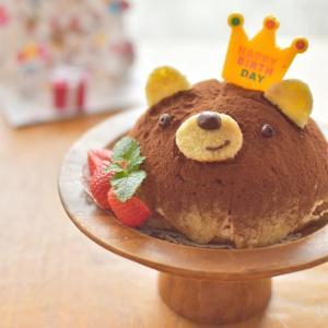 今年もくまティラミスのバースデーケーキ☆