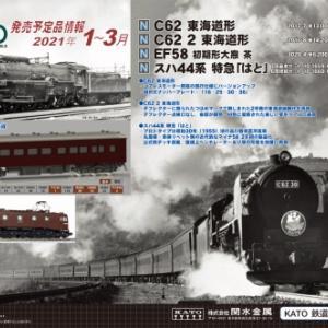 KATO2021年1~3月の新製品
