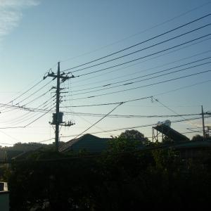 熱帯夜の朝… 今日も猛暑がやって来る!!