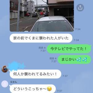 札幌の街中で熊出没