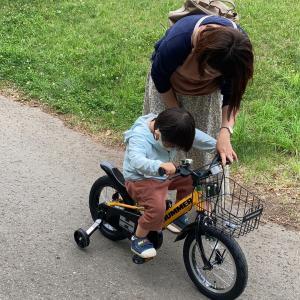 初めての自転車