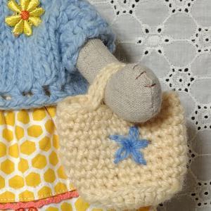 ねこさんの編みバック