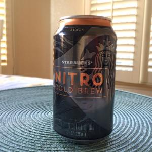 ☆Nitro Cold Brewのクリーマーを試してみた☆