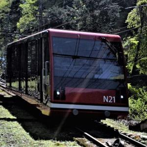 高野山のケーブルカー 2019