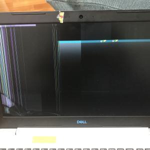 パソコン壊しまして。