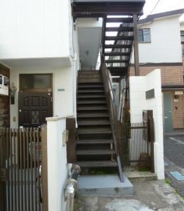 The way to Nakameguro apartment