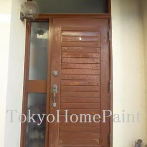 今では貴重なヤマハ木製玄関ドア
