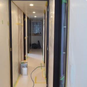 完成編~ダークブラウンの既製品建具を明るい白に塗り替えよう!