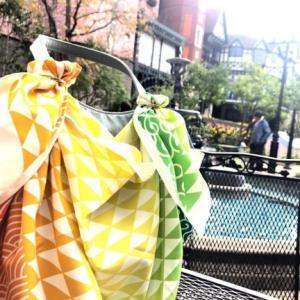 ふろしきぶるバッグご使用画像をご紹介♪クラウドファンディングご支援者様の着せ替え