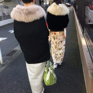 着物の時にお役立ち♪ふろしきバッグに着物包みにショールやたすき掛け代わりに♪