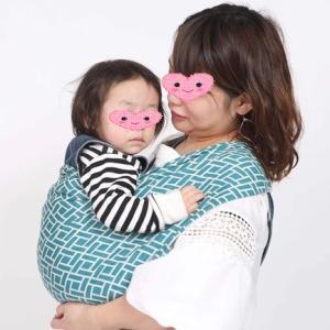 赤ちゃん安心風呂敷赤ちゃん巻き♪結び屋ゆいくの赤ちゃんとママは風呂敷講座の素敵なモデルさん♪
