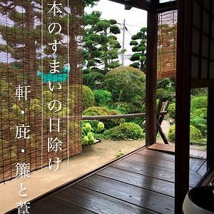 コラム「文月の和のすまい」♪風呂敷で楽しむ和のくらし♪日本のすまいの日除け♪金魚と朝顔柄小風呂敷