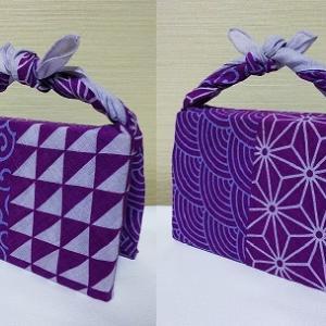 1分で出来る「ふふふふろしき~ブック包み~」二つの物を別々に分けて包める賢い包みのYoutube