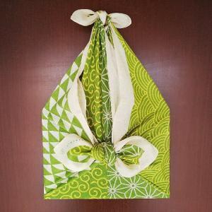 松の内と正月のしめ飾りととんど焼き♪お正月飾りの持ち運びには風呂敷リボンバッグ♪