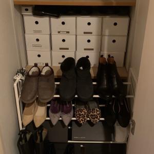 靴の衣替えと断捨離!恐るべし成長期であります。