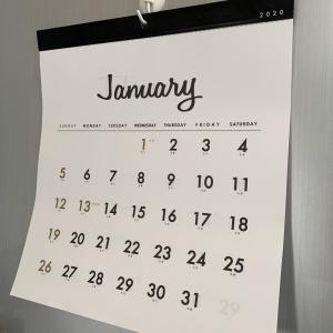 来年のカレンダーもシンプル&モノトーン♥