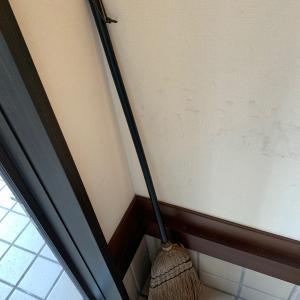 玄関掃除終了!これにて週末の掃除ノルマ達成!