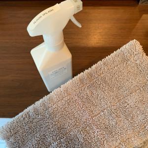 そして最後の大掃除仕上げ!床掃除&キッチンカウンターの丸洗い!