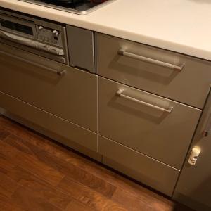 キッチン:引き出し収納と断捨離!