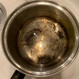 ステンレス鍋のお掃除はクエン酸とハイホームで簡単きれい!