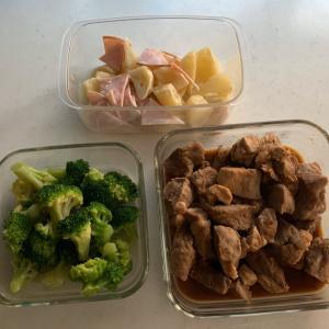 #stayhome: 食費がアップ↑↑↑そして相変わらず簡単レンチンレシピがメインな平日。