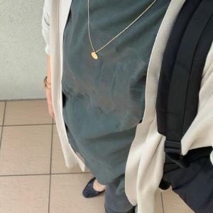 ACNE STUDIOSスキニーとロングカーデ★反抗期のちびと母さんの気になるラクチンな服たち。