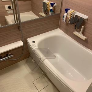 お風呂掃除パート②~水垢掃除と防カビで仕上げです!