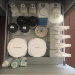 キッチン引き出しはホワイト収納~洗剤の収納を効率良くチェンジしました!