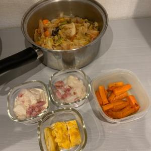 作り置きはまたまた簡単レシピ。とサバター炊き込みご飯!