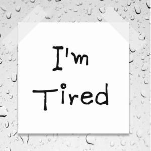 もう疲れたよー!