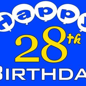 HBD1号\(^o^)/ 忘れられない誕生日になりそうね。