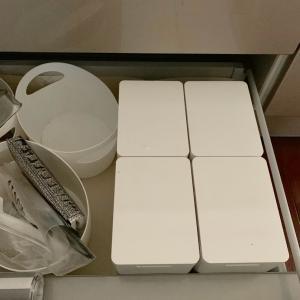 キッチン収納:ニトリのダストボックス追加です!