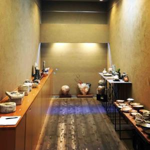 岡山 ギャラリー栂篠原希陶展はじまりました。