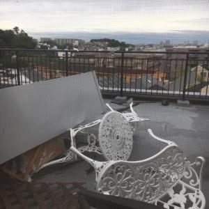 台風の被害・・・