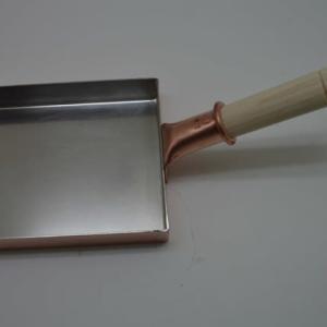来ました銅製の卵焼き器!