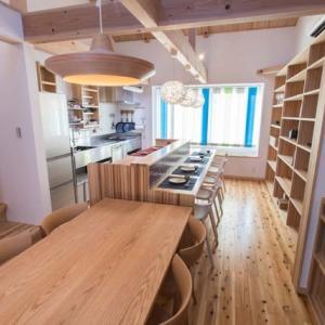 キッチンで暮らす京都マザーハウス紫野の家