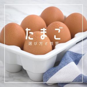 卵の選び方と性質(基本)