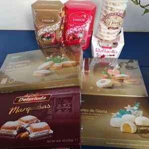 もうじきクリスマス♪の、お菓子を食べる季節