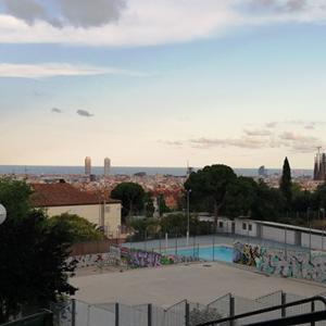 バルセロナ20時半の眺めと16時間断食メシ記録④