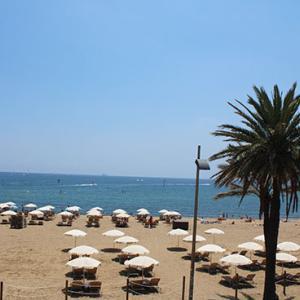 バルセロナの海が見たいのです