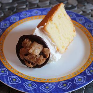 シフォンケーキとスペインしゃぶしゃぶ作法