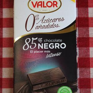 カカオ85%無糖チョコレートの威力