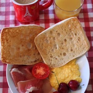 朝食っぽい朝ごはん