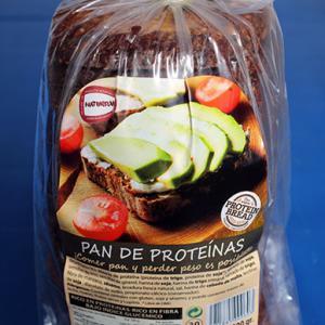黒いプロテインパン