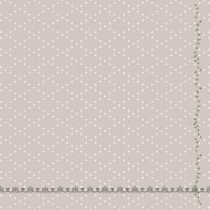 ひし形×リッチなライン×葉と花のライン
