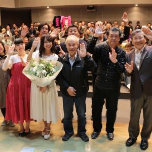 鯖江市と仮面女子のコラボレーション事業・「未来の唄」の完成披露上映会