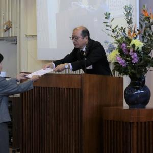 鯖江市高年大学の閉講式が開催されました
