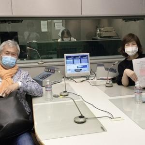 ラジオ番組 マスクで収録